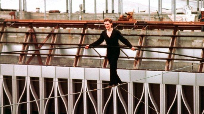 Philippe Petit - high wire walk